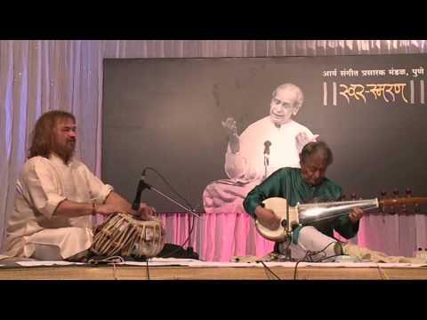 Tribute to Pandit Bhimsen Joshi by Sarod Virtuoso Amjad Ali Khan - Raga Mian Ki Malhar