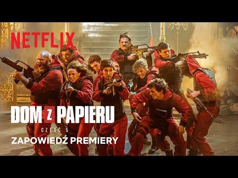 Dom z papieru — część 5 | Zapowiedź premiery | Netflix