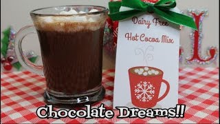 Dairy Free Hot Cocoa Mix, ~ Gift in a Jar ~ The Holidays are Coming ~ Noreen's Kitchen