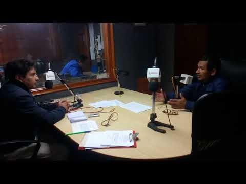 CMDTE FIERRO, EN ENTREVISTA EN RADIO LOS ANDES DE HUAMACHUCO,10-11-2017