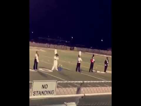 Calhoun City High School Band 1st place division (drum major !)