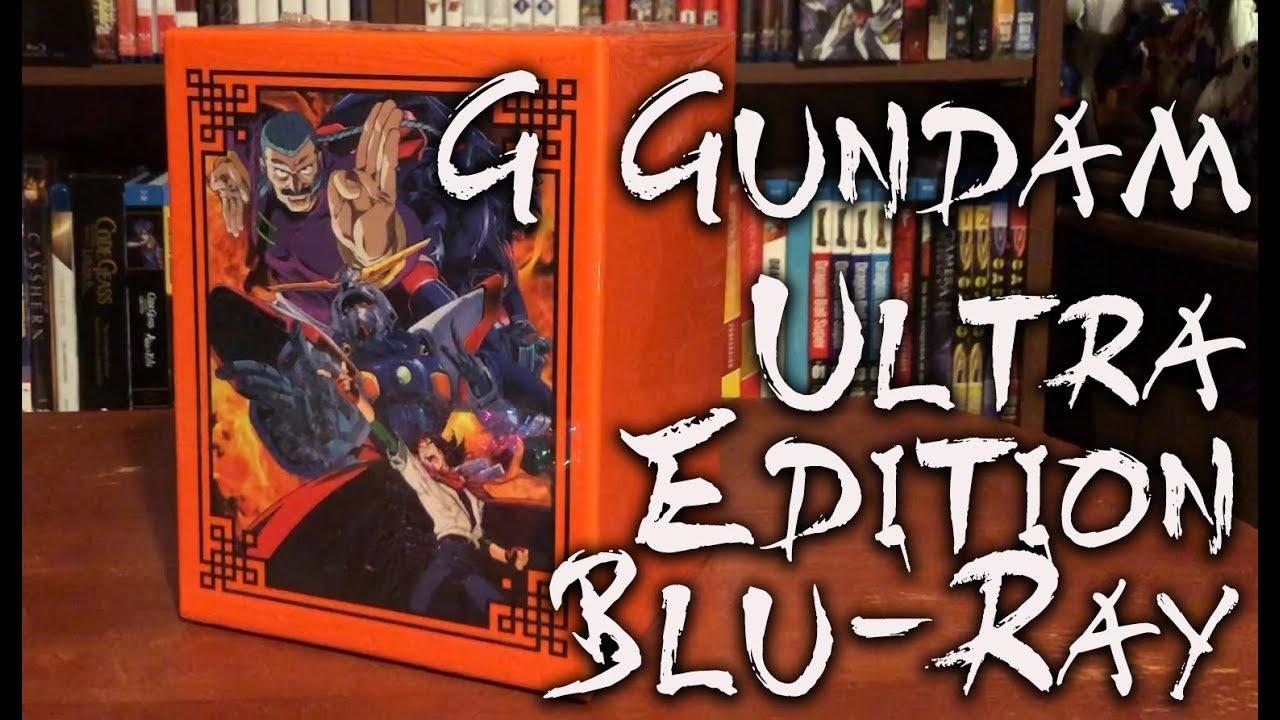 mobile fighter g gundam ultra edition blu ray
