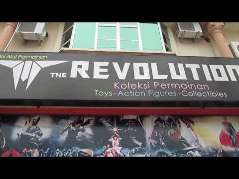 Transformers, The Revolution Shop, Ipoh, 2013