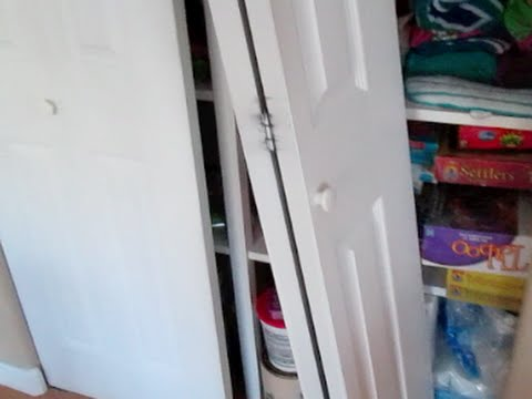 Installing Bifold Doors Install Bi Fold Closet Re Install Door How