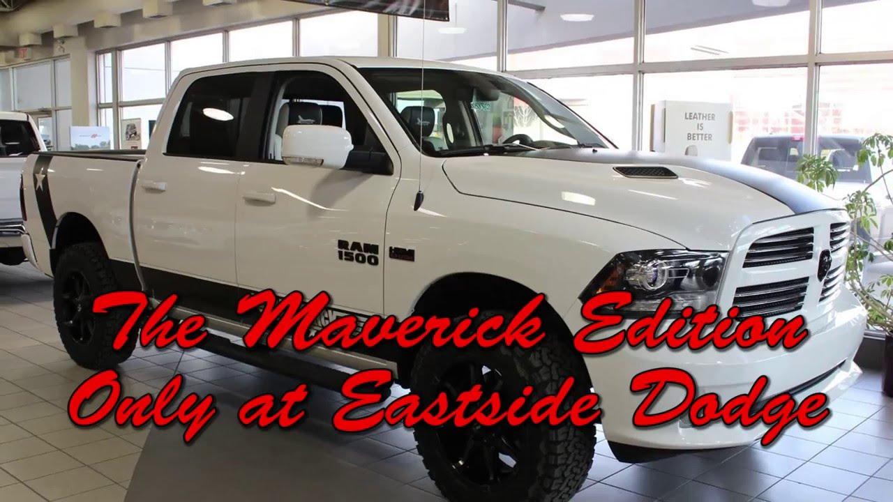 The Maverick edition - Eastside Dodge - Calgary Alberta - YouTube