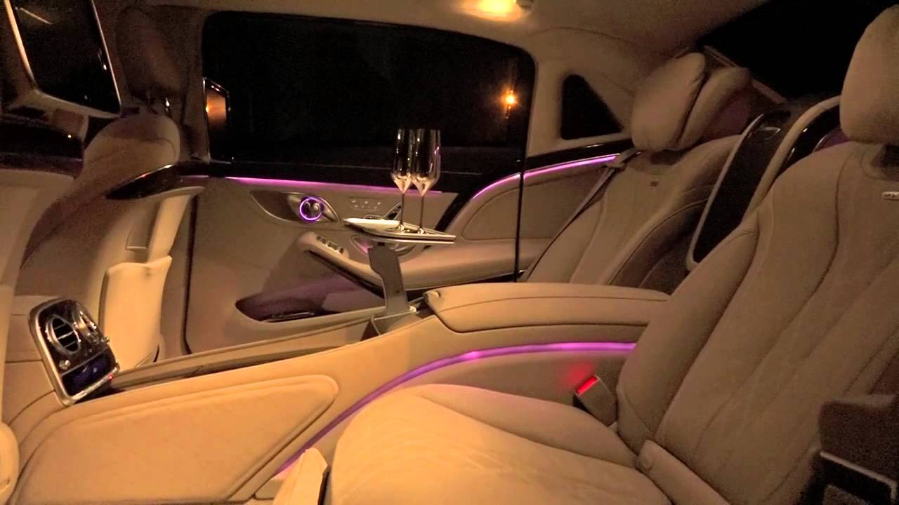 2015 mercedes maybach s 600 amazing interior lighting system youtube. Black Bedroom Furniture Sets. Home Design Ideas