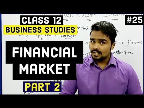 Class 12 business studies (primary and secondary/stock market) Mind your own business video 25