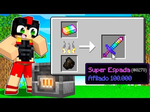 Paso Minecraft pero los HORNOS dan SUPER OBJETOS 😱🔴 Invictor y Acenix