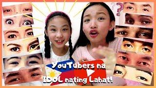 GUESS THAT YOUTUBER CHALLENGE   Celebrity Pinoy Youtuber ( kasama ba mga idols ninyo dito? )