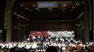 "Carmina Burana ""Fortuna Imperatrix Mundi""| Orquesta Sinfónica Nacional de México - 2013"