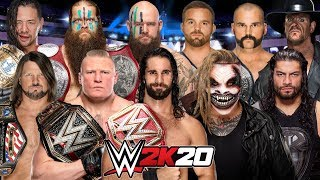 *WWE 2K20* FIRST EVER ROYAL RUMBLE!!!