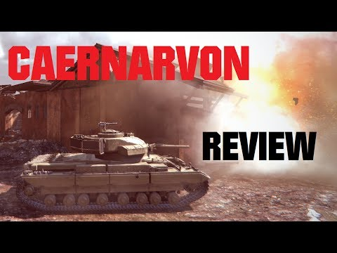 Caernarvon Review & Guide - Tier 8 British Heavy Tank [World of Tanks / WoT]