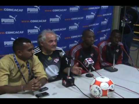 Post Game Conference - T&T vs Costa Rica, CONCACAF U20 World Qualifier
