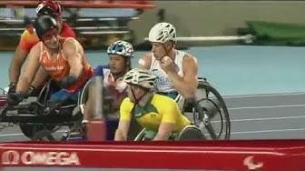 Paralympialaiset Rio 2016 Ratakelauksen finaali
