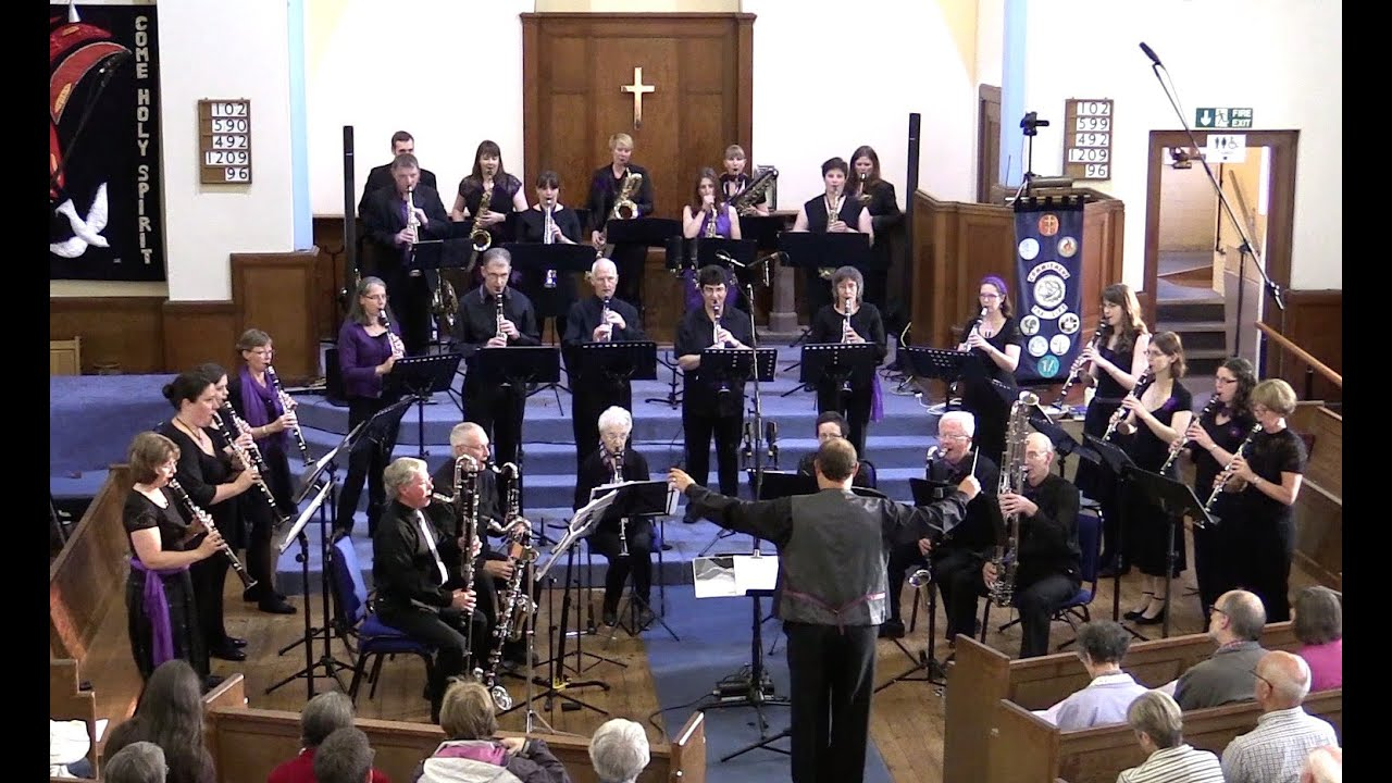 Magic Flute Overture - sax & clarinet ensemble