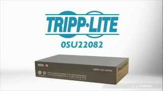 Product Tour: TRIPP LITE 0SU22082 Minicom Smart 116 - 16-Port Cat5 KVM Switch
