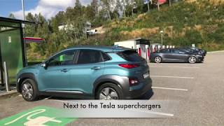 First trip in Hyundai Kona Electric