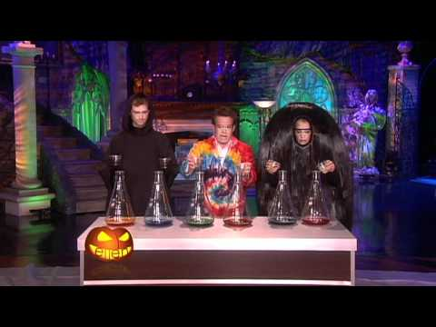 Steve Spangler on The Ellen Show - Halloween - October 2010