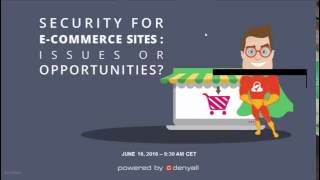 Security for e commerce sites: issue or opportunity?