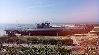 #warstory #музей #подлодка Немецкая подводная лодка U 995  Военный музей