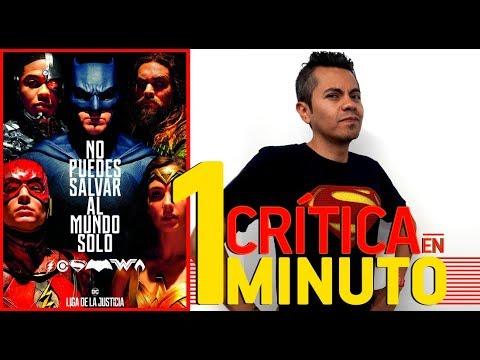 Liga de la Justicia - Crítica en 1 minuto