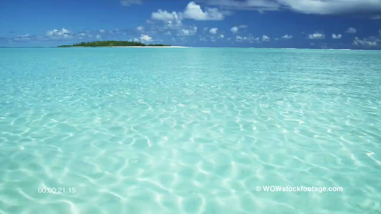 Tropical Waters Cook Islands Youtube