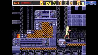 The Revenge Of Shinobi, Super Shinobi Complete Sega Genesis Hardest Mode Longplay Walkthrough