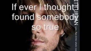 Watch Keith Urban If Ever I Could Love video