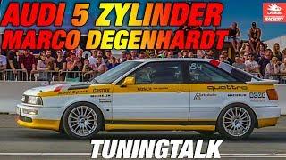 5 Zylinder Audi Turbo, Marco Degenhardt im TuningTalk @ Speeddays Alkersleben 2017| RACECITY