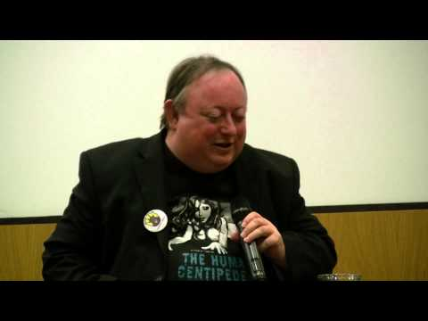 Laurence R. Harvey at the Festival of tastic Films, Manchester UK.