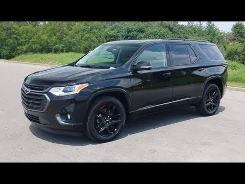 2019 Chevy Traverse Premier Red Line Edition AWD at Wilson ...