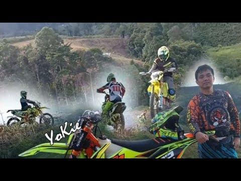 KTM, Trail Ninja Modif Adventure, Berjam Terjebak Lumpur Jalur Sempit Extreme