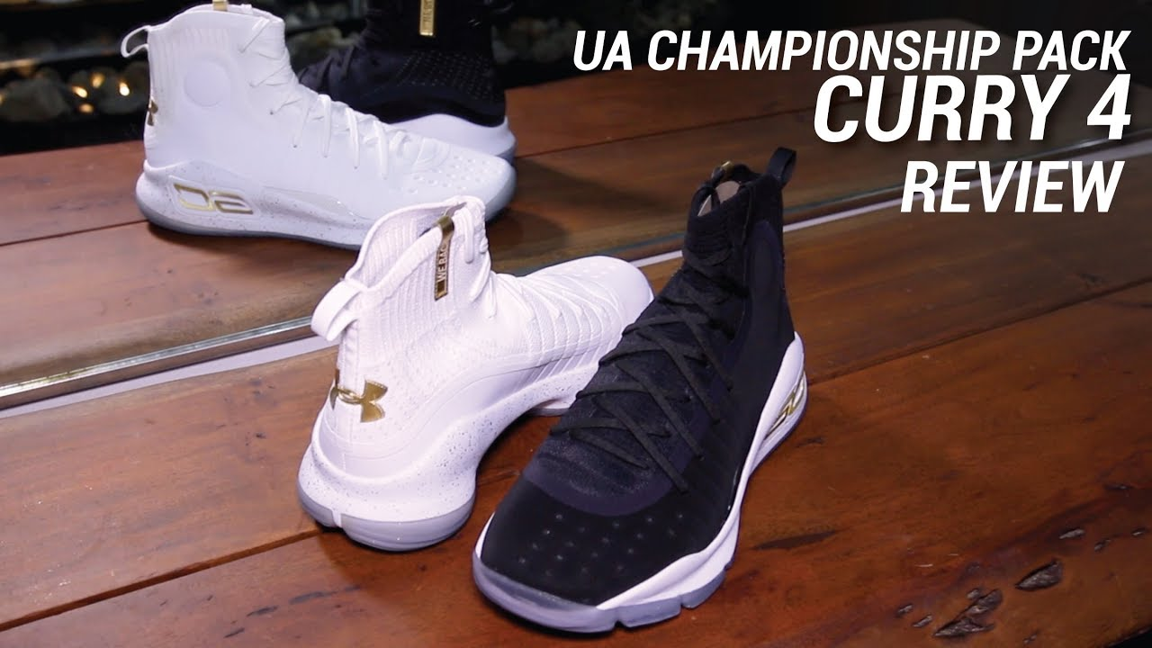 dde132f96db UNDER ARMOUR CURRY 4 CHAMPIONSHIP PACK REVIEW - YouTube
