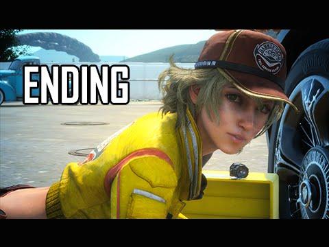 Final Fantasy 15 Walkthrough Demo Part 4 ENDING FFXV