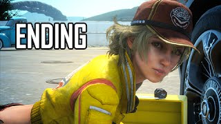 Final Fantasy 15 Walkthrough Demo Part 4 - ENDING (FFXV PS4 Gameplay Commentary)