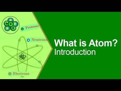 Atom Structure - Parts of an Atom - YouTube