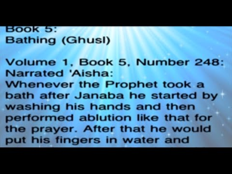 Hadith Bukhari in English part 3