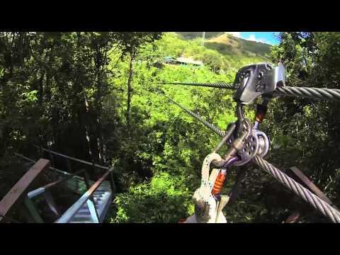 Zip Lining In Antigua