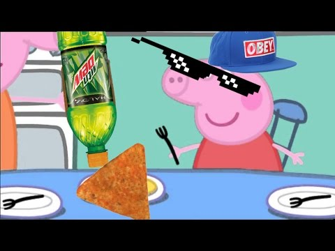 Mlg Peppa Pig Makes Pancakes