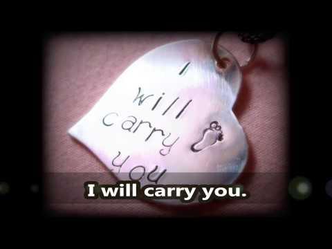 "~Selah~ I Will Carry You ""Audrey's Song"" (lyrics)"