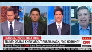 CNN Panel discussion on Trump's response to the news that Russia did hack and Obama could have done