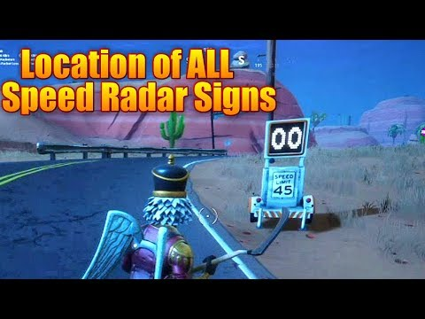 Fortnite Battle Royale - Location Guide For All Radar ...