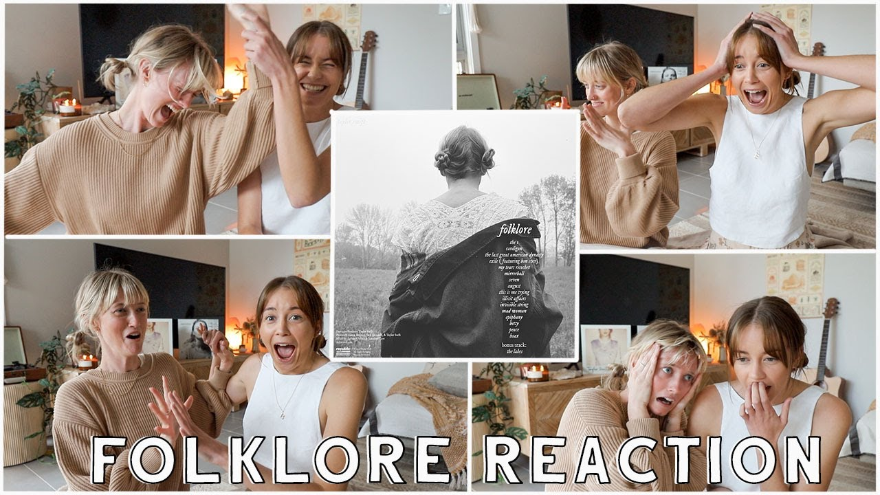 Download ALBUM REACTION : Folklore - Taylor Swift