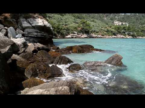 BEST 60 minutes of GREECE Relaxing Thassos Island at Aegean Sea