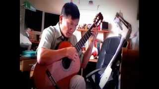 Ngan Cach - Y Van - Arrangement for guitar Do Dinh Phuong