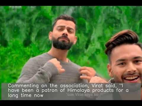 Himalaya Men announces Kohli & Pant as brand ambassadors Mp3