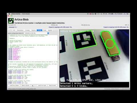 JeVois Inventor - instant Python + OpenCV machine vision