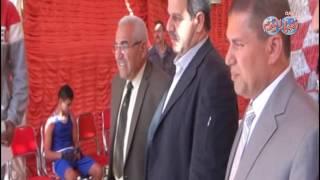 أخبار اليوم |  سكرتير عام محافظة أسيوط يكرم الفائزين فى بطولة الجمهورية للملاكمة
