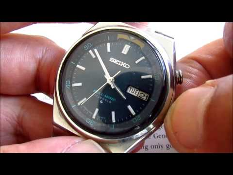 Seiko Bell Matic 17 jewels vintage wristwatch Cal 4006A