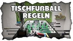 Tischfußball Kneipenregeln und offizielle Spielregeln